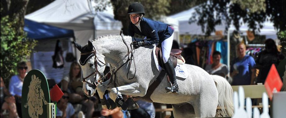 Scott Lico Stables rider at a horse show.